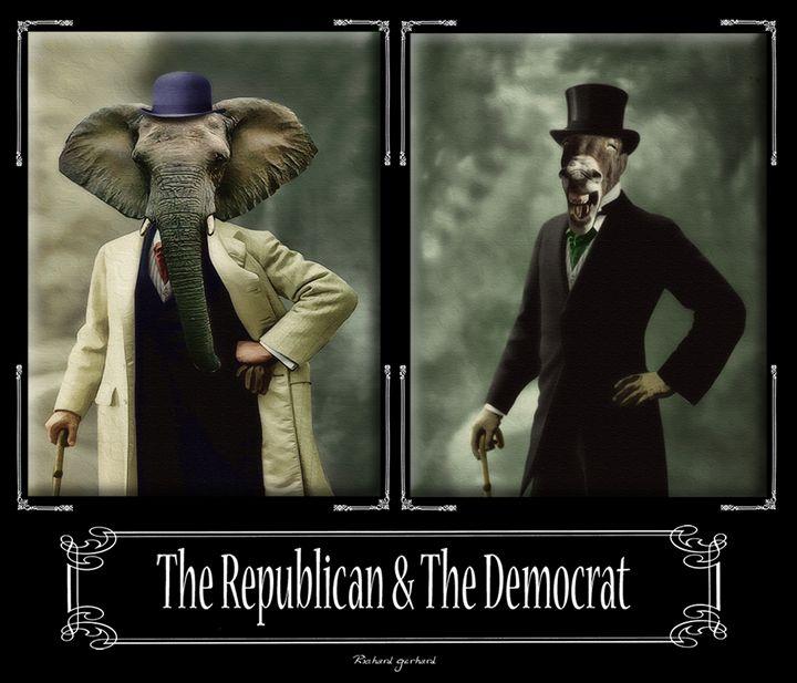 The Republican & The Democrat - Richard Gerhard