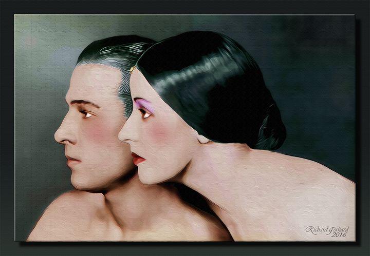 Rudolph Valentino and Natacha Rambov - Richard Gerhard