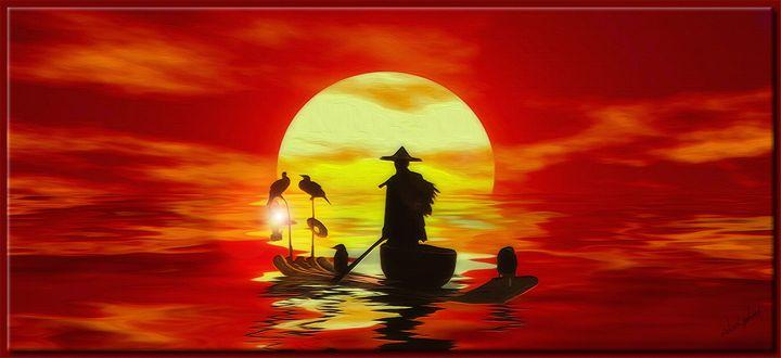 The Cormorant Fisherman - Richard Gerhard
