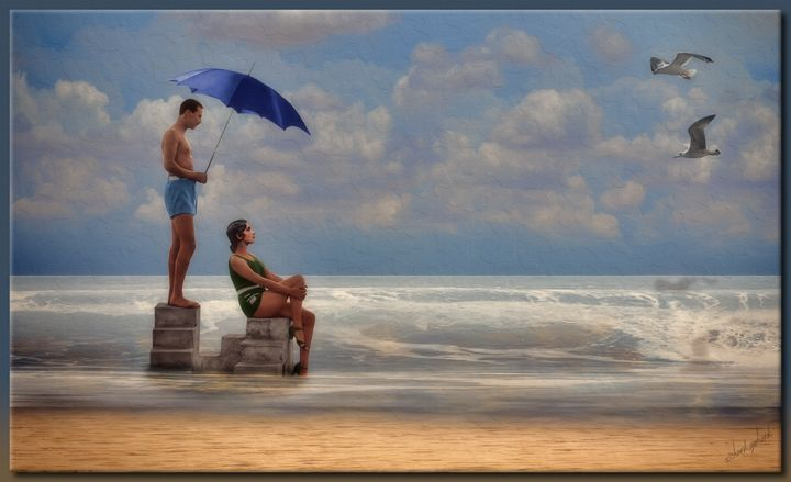 At The Beach - Richard Gerhard