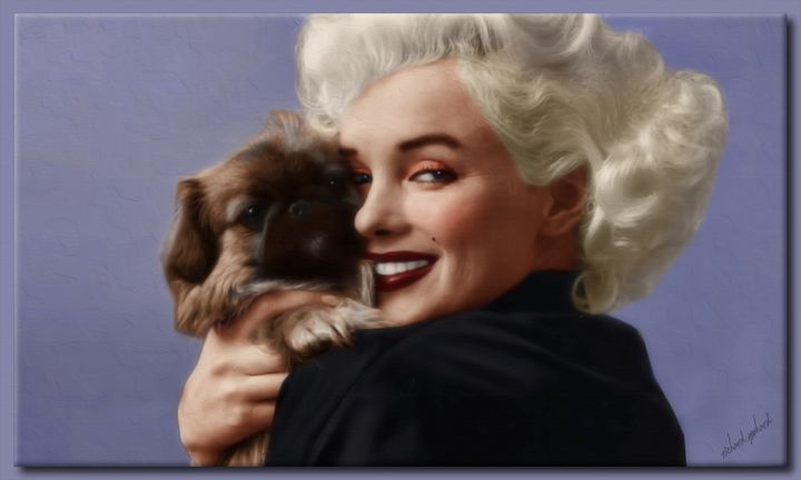 Marilyn With Boopsie - Richard Gerhard