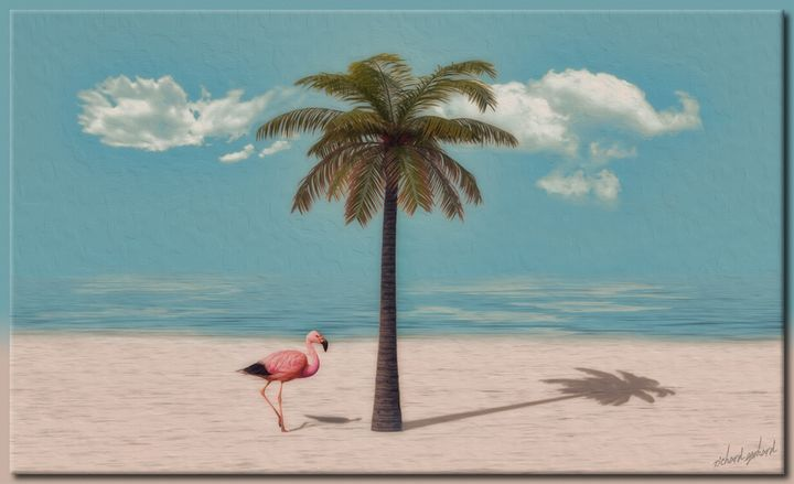 The Flamingo - Richard Gerhard