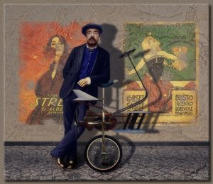 The Monociclo Volante - Richard Gerhard
