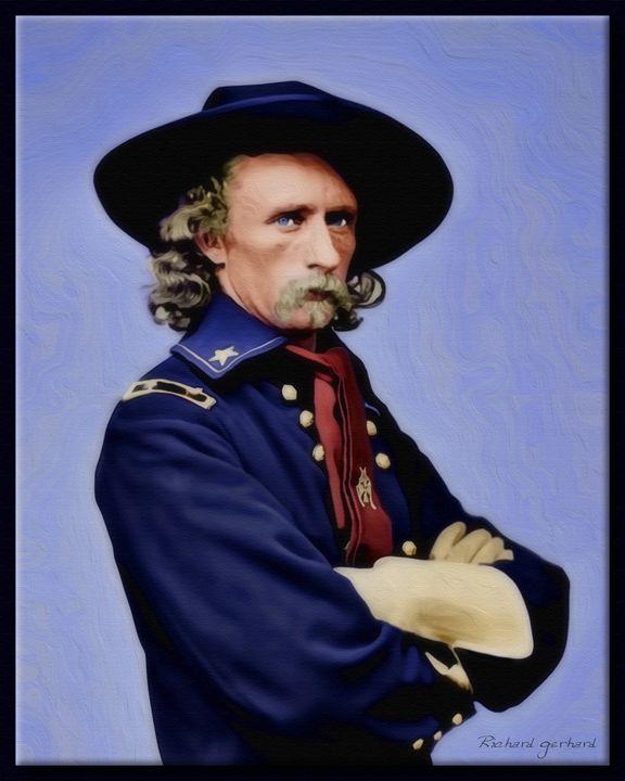 Custer 1885 - Richard Gerhard