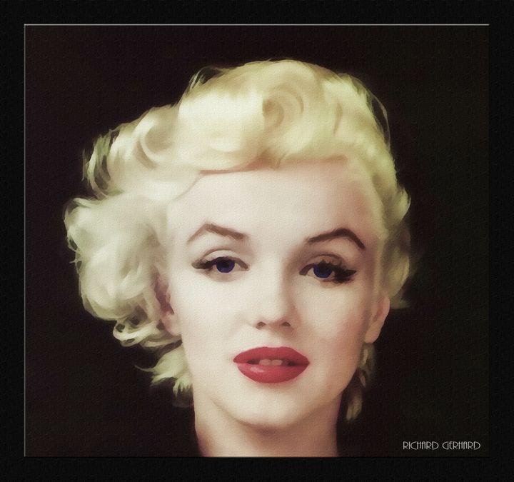 Marilyn in Oil - Richard Gerhard