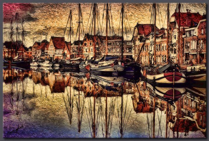 The Fishing Village - Richard Gerhard