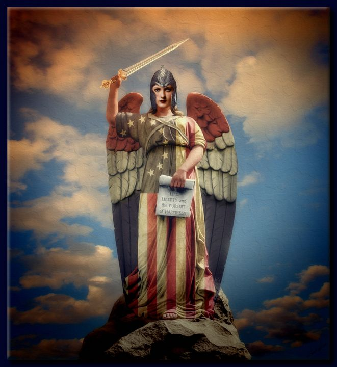 The Angel of Freedom - Richard Gerhard