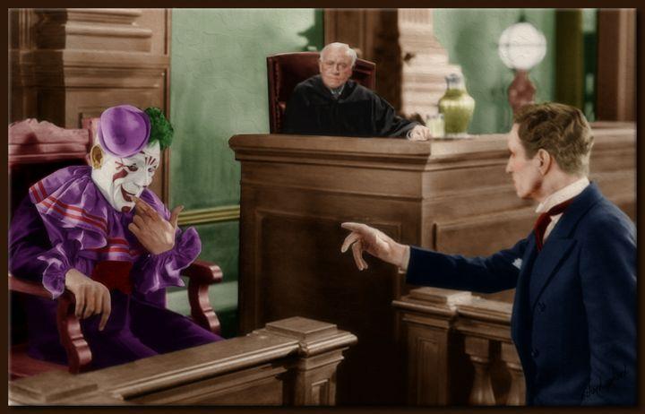 The Clown's Cross Examination - Richard Gerhard
