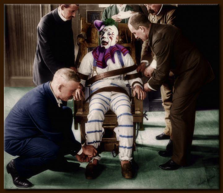 The Clown in the Chair - Richard Gerhard