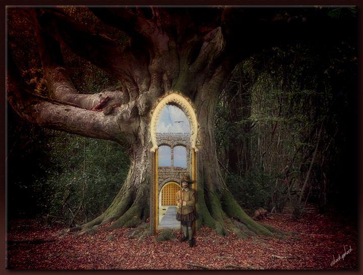Entrance to the Land of Kianti - Richard Gerhard