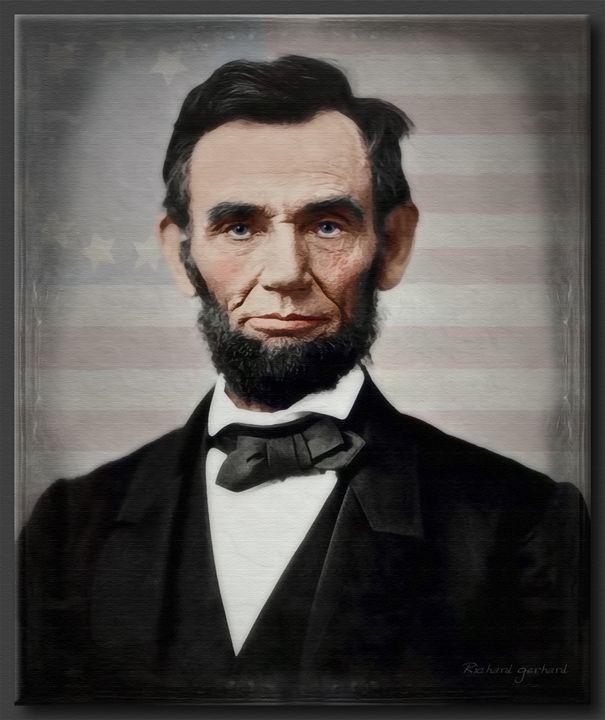 Abraham Lincoln 1863 - Richard Gerhard