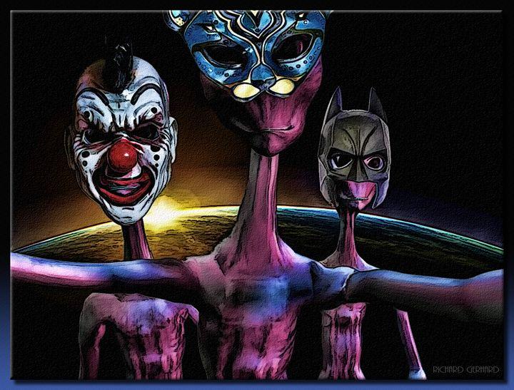 Alien Masquerade - Richard Gerhard