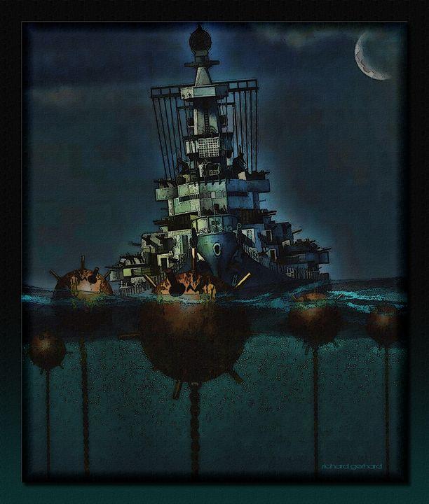 Danger At Sea - Richard Gerhard