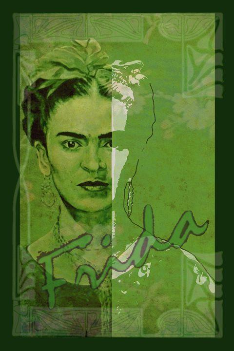 Frida - between worlds - ARTito - Paintings and MixedMedia