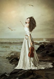 The young violinist