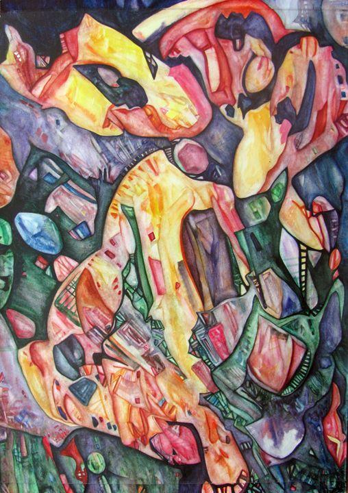 Autumn Dance - Abstract