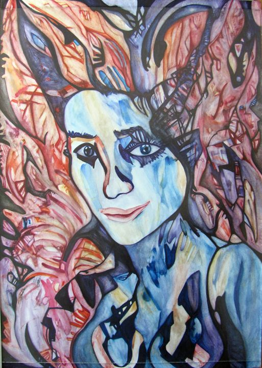 Woman Portrait - Abstract