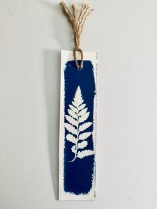 Fern Botanical Bookmark