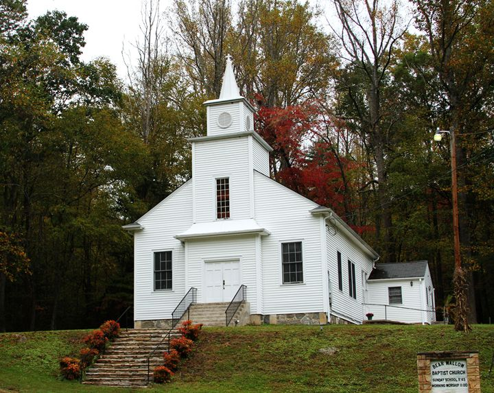 Country Church - VMartin Photoart