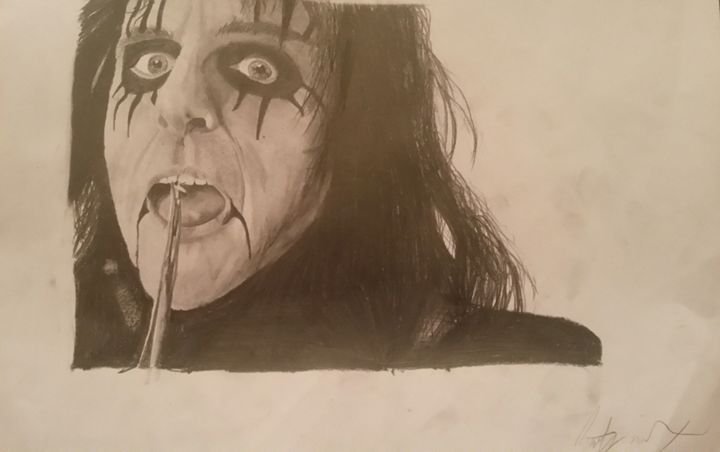Alice Cooper - Art by Kirsty Willcox
