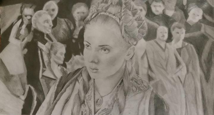 Sansa Stark, Game of Thrones - Art by Kirsty Willcox