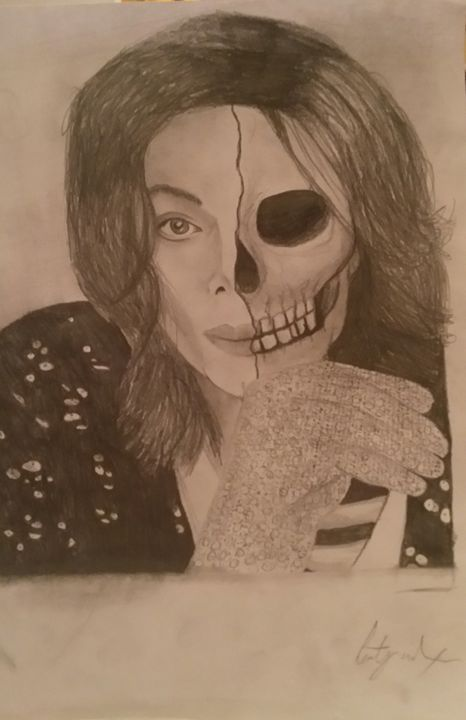 Michael Jackson undead - Art by Kirsty Willcox