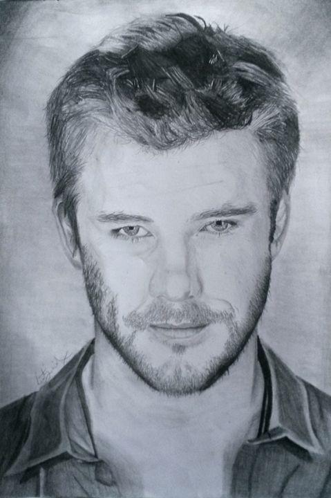 Chris Hemsworth (Thor) - Art by Kirsty Willcox