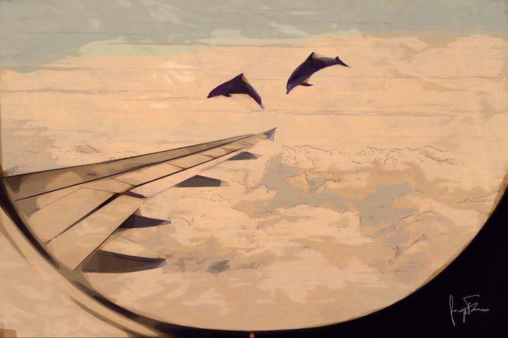 Learning To Fly - Giuseppe Ferraro Artworks