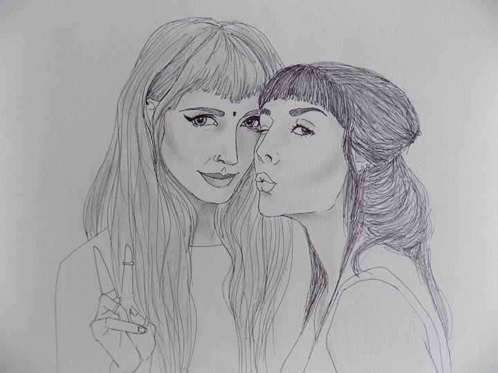 Hannah Snowdon and Friend - Gabby Bazan