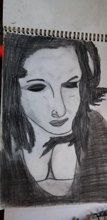 Sad girl - Silentzombiegirl