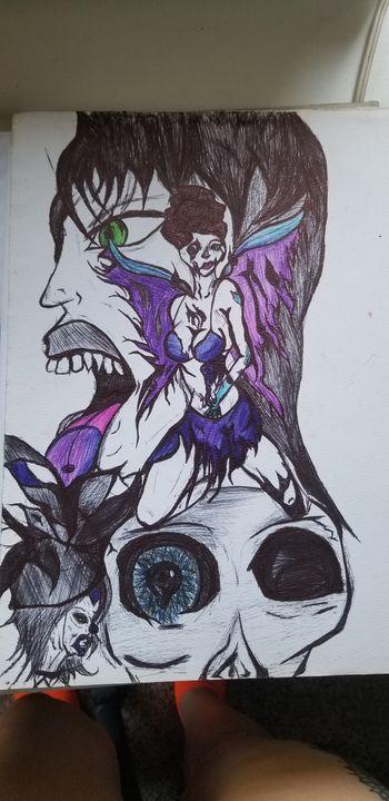 Abstract fairy - Silentzombiegirl