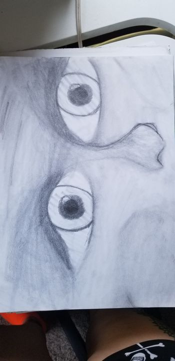 Creep eyes - Silentzombiegirl
