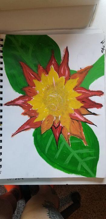 Sun flower - Silentzombiegirl