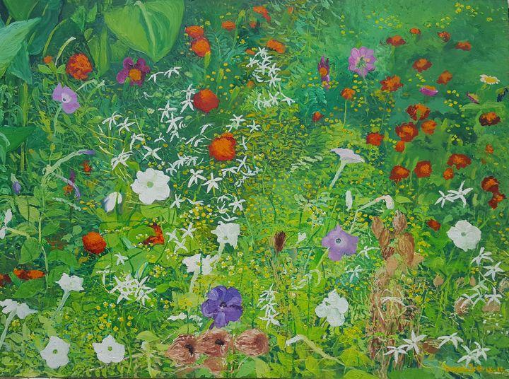 Garden Flowers at Drače II - Tomislav Ivanišin