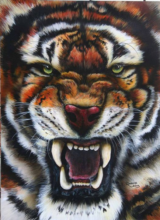 Power of the Tiger - Mirage Art Productions