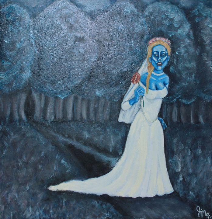 Corpse Bride. - Word Play Portraits & other FineArt by Jen Morgart