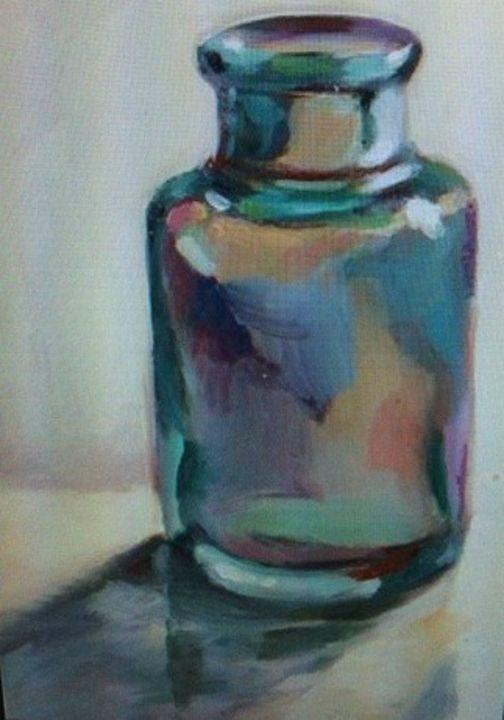 Glass Bottle - Morris Paintings