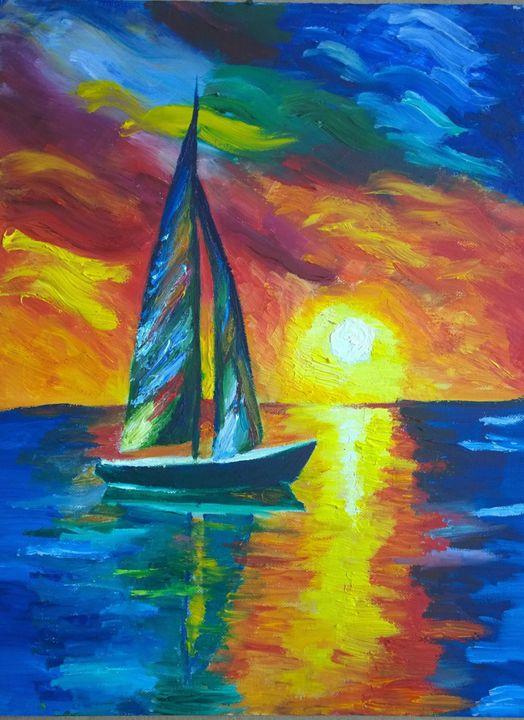 Sail - Morris Paintings