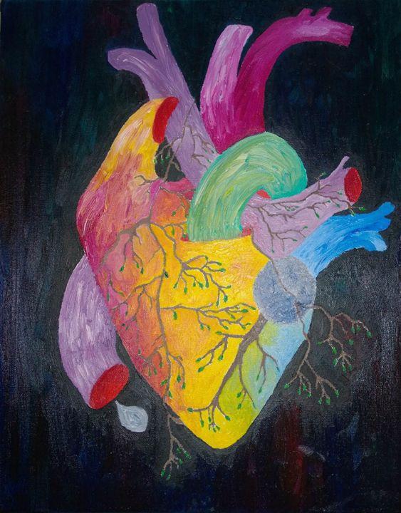 Growing Heart - Morris Paintings