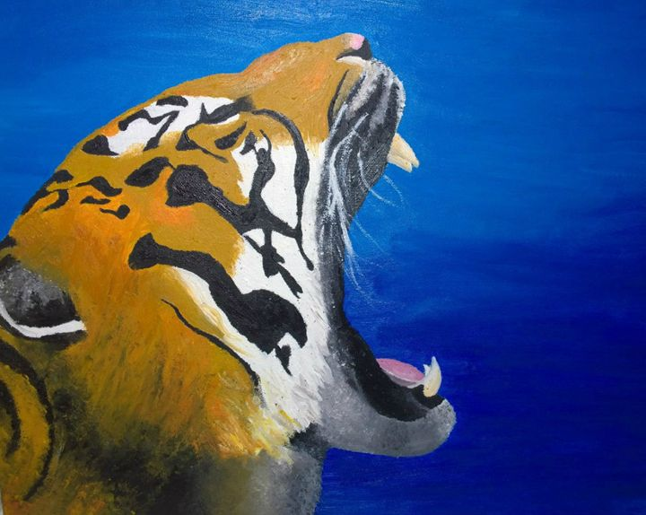 Tiger - Morris Paintings
