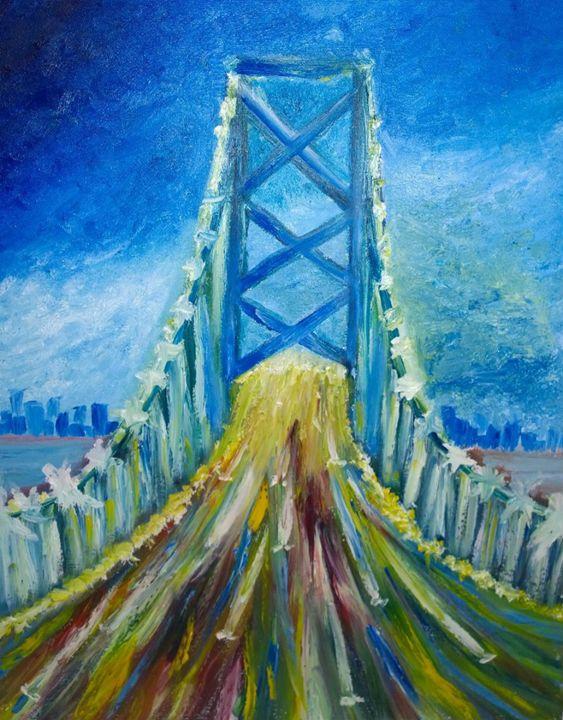 Night Drive - Morris Paintings