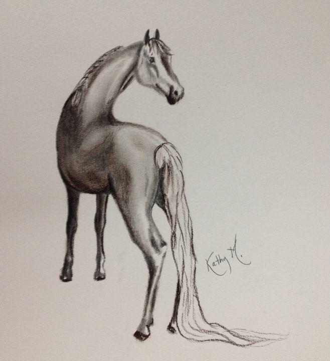 Horse serie 3 - Kathy M.