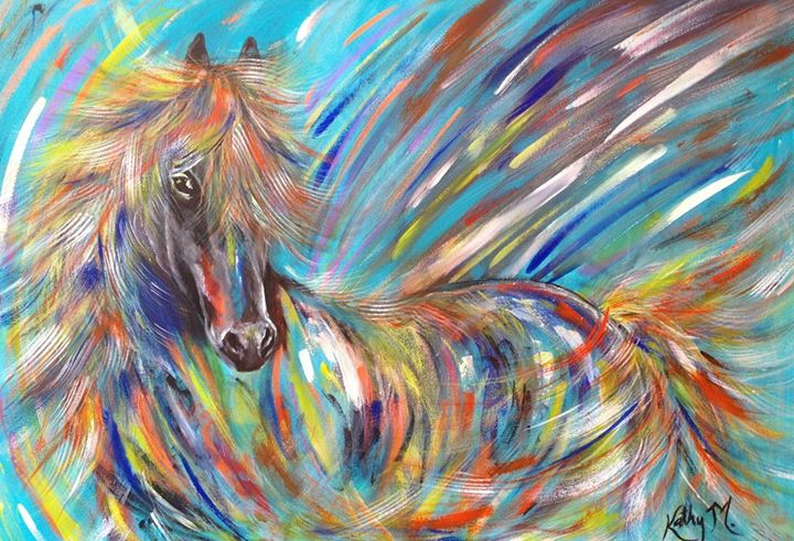 Colorful horse - Kathy M.