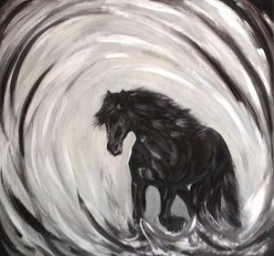 Darkness horse