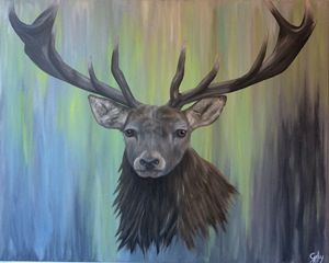 Hunted Stag