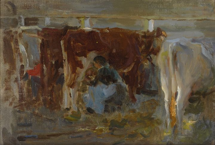MILKING TIME - naveen sharma