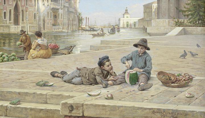 Antonio Ermolao Paoletti The melon - naveen sharma