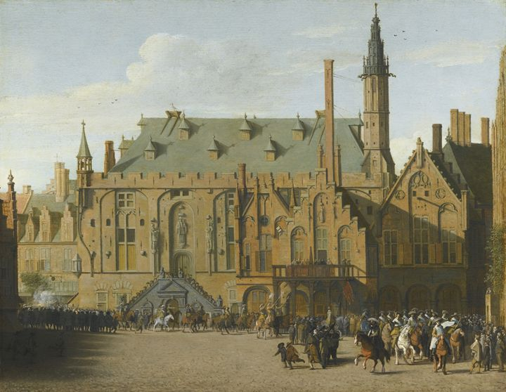 THE TOWN HALL AT HAARLEM - naveen sharma
