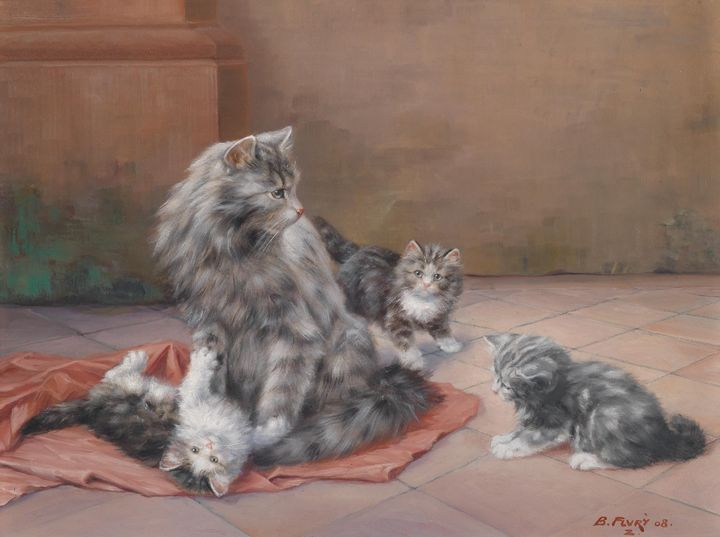 Four Cats - naveen sharma