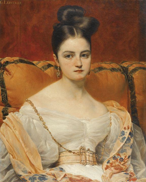 PORTRAIT OF HENRIETTE GREVEDON - naveen sharma